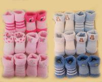Kids socks baby socks lot meias infantil de bebe winter chenille 12 pairs ninos menina girls boys newborn  free shipping