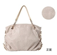 free shipping classic  contracted fashion handbag woodpeckers leather cowhide hand carry his