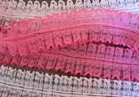 free shipping 1-3/4'' (45mm) Headwear apparel lace silk ribbon Polyester cartoon Ribbon haribow accessory gift pack YB-K2234422