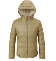 New 2014 Men White Duck Down Jacket Winter Outdoors Parka Jaqueta Masculina Hooded Zipper Clothing Casual Coat Khaki Black
