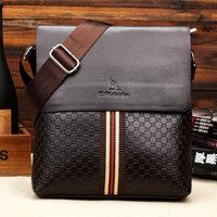 Big Promotion 2014 Winter New Fashion Men Messenger Bags Kangaroo Bag Leather Shoulder bag Man Briefcase High Quality