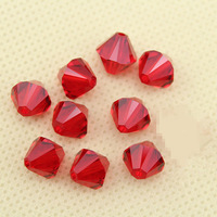 2014 New fashion red beads pretty rhombus 4mm 5mm 6mm & 8mm 20pcs/lot high quality original factory crystal swa austrian sj008