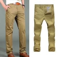2014 New Fashion Men Pants Casual Mens Long Trousers Straight Cotton sport outdoor Pant Famous Brand Designer 3 colours 6226