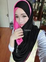 HW031a muslim cotton rhinestones big muslim hijab scarfs shawls free shipping,fast delivery,assorted colors