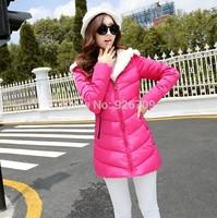 2014 New Design Fashion winter Down Jacket Female Coat Parka Woman Coat Long Lady Outerwear Winter Coat Women, #013821,Free Ship