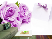 papel de parede, Modern home deco fashion 3D stereo wallpaper for  wall dec tv/sofa/bed background,rose style,No.0804