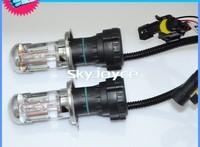 Free shipping 35W/55W 12V H4 automotive telescopic lamp HID xenon lamp light one distance car headlights, belt line