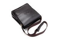 Factory Sale 2014 New High Quality Genuine Leather Fashion Casual Business Men's Crossbody Messenger Shoulder Bags