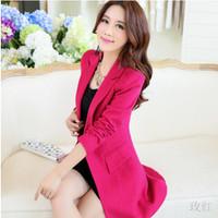 2014 new winter women's large size Korean Slim woolen coat, fur collar, woolen coat