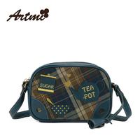 For ar tmi2014 autumn new arrival british style dimond plaid messenger bag female
