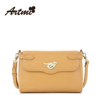 Artmi2014 bags solid color vintage the trend of fashion messenger bag female