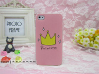Gift+ Wholesale Free Shipping Fashion For iphone5 5s & 4 4s Cartoon princess phone cases for iphone 5 5s & 4 4s New Arriva