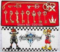 Free Shipping Kingdom Hearts Cosplay Necklace 12pcs/set New