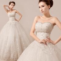 2014 high waist vintage bud silk floral sweetheart wedding dress
