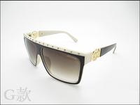 Trend 2014 sunglasses fashion sunglasses male women's anti-uv glasses 4263