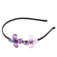 Headwear New Fashion High-quality flower Hair accessories Women girls Hairbands Headband For Festival Party 419