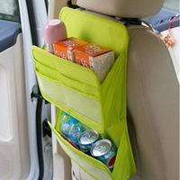 2014 Multifunction Large capacity Car debris Storage Bag/ 1PCS/LOT backseat supplies car Storage Bag (Bunk) Free Shipping