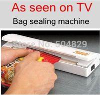 80pcs/lot Plastic Bag Reseal Save Fresh Food Heat Sealer Reseal & Save Portable Vacuum Sealer Use Betteries