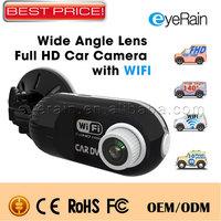 2014 Wireless WIFI Car Camera Video Recorder wi-fi Car Dvr Cycle Recording Motion Detection Car Black Box Mini Dash cam CDVI03