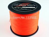 500M 80LB Orange Spectra Brands 1 PCS 0.48mm PE Dyneema Braided Fishing Line free shipping