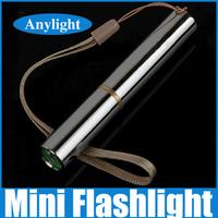 Super Bright waterproof led edc mini flashlight torch cree 260 Lumens 1-Mode multipurpose Powered by 10440/1*AAA WLF52