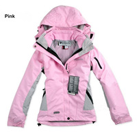 Wholesale Skiing Jacket Snow Jacket Winter Waterproof Windproof Hiking Camping Jackets Windbreaker For Women