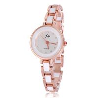 Fashion Women Ladies Girls Bracelet Wrist Watches Round Quartz Analog Watch Alloy