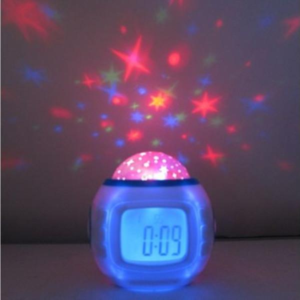 Sky Stars Projector Clock Sky Star Projector Night
