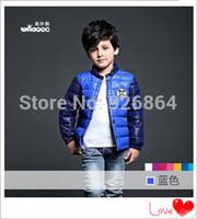 2014 winter new brand children wear big virgin boy child down jacket liner children's clothing dress clothing set