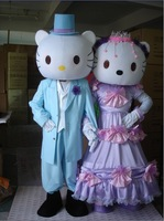 Kt cat cartoon clothes cartoon dolls customize for daniel  KT mascot costume   Free Shipping