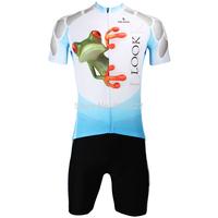 2014 New fashion Men's  Design Short Sleeve Cycling Jersey Shirt cycling clothing Bicycle-S M L XL 2XL 3XL- Lizard