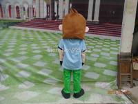 Little boy cartoon dolls performance wear cartoon clothes professional customize mascot costume