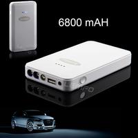 Car Battery Charger Mini Emergency Jump Starter Rechargeable Portable Lemfo Auto EPS GP-X6 6800mAh External Power Bank 2014 New