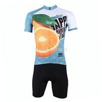 2014 New fashion Men's  Design Short Sleeve Cycling Jersey Shirt cycling clothing Bicycle-S M L XL 2XL 3XL-Orange