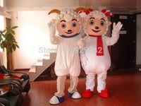 Adult performances mascots  Big gray wolf cartoon dolls cartoon clothes child performance wear Goat costume Free Shipping