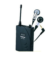 High quality Takstar UHF-938 Wireless Tour Guide System Receiver with earphone UHF frequency UHF 938 (Not include Transmitter )