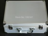 Professional Silver high quality Aluminum Tattoo Kit  case & Tattoo box Tattoo kit box wholesale