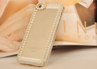 3D Bling Rhinestone Pearl Bow Mobile phone Case for iPhone 4/5S 5C Samsung S3/S4/S5/Note2/Note3/S3 mini i8190/S4 mini i9190 Case
