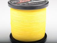 Free shipping 500M 80LB 0.48mm Yellow 1 spool Spectra Brands PE Dyneema Braided Fishing Line