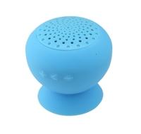 Hot Sale Cheap 2014 Mushroom Mini Bluetooth Speaker Wireless Hands free NON-Waterproof Silicone Suction Wireless Speake Blue