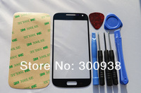 Black  Replacement Front Touch Screen Outer Digitizer Glass Lens For Samsung Galaxy S4 mini I9190 i9192 i9195 With Free Tools