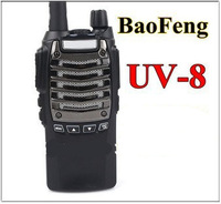 FREE SHIPPING BAOFENG Dual Band Radio UV-8 5W 128CH UHF+VHF DTMF ANI Code Call Tone 1750Hz Flashlight FM VOX Walkie Talkie