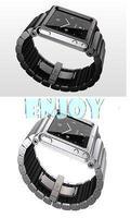 Aluminum Multi-Touch Wrist Strap Watch Band for iPod Nano 6 6th Generation