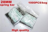 Wholesale 1000PCS / bag High quality watch repair tools & kits 28MM spring bar watch repair parts -041426