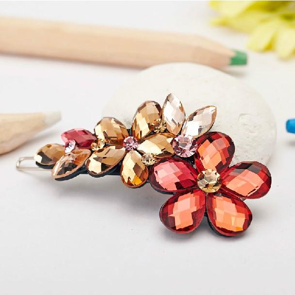 2014 new fashion bridal hair accessory hairpins hair clip rhinestone hair accessory barrette hair jewelry (Min. order is 10$)(China (Mainland))