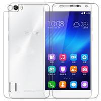 Huawei Honor 6 Original Nillkin Matte OR HD anti-fingerprint screen protective film with real package freeshipping