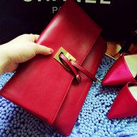 desigual 2014 Luxury  brand women's handbag genuine leather day clutch folding multi-purpose bag fashion business bag