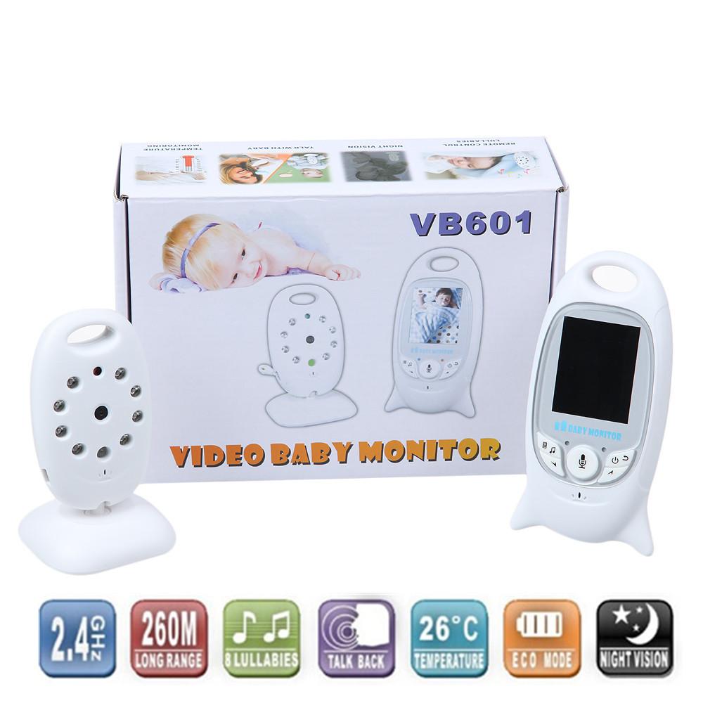 2.0 Inch Video Baby Monitor with Wireless Security Camera 2 Way Talk Audio IR LED Night Vision Long Range Digital Signal(China (Mainland))
