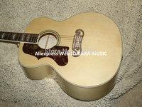 Left Handed Natural J200 Acoustic Guitar Wholesale Guitars Best High Quality HOT