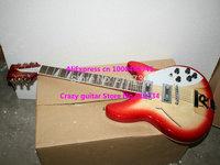 Custom 360/12 Strings Electric Guitar Cherry burst 2 Pickups Wholesale HOT Guitars Free Shipping